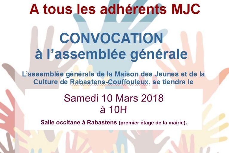 Permalien à: Invitation assemblée générale
