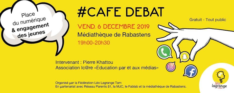 Permalien vers:Café débat 'Place du numérique et engagement des jeunes'